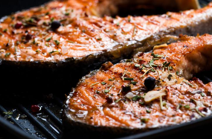Louisiana Grilled Salmon