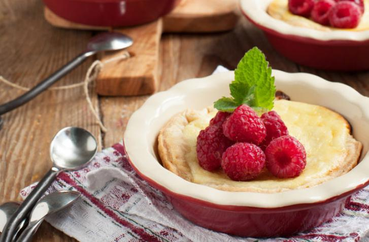 Raspberry and Ricotta Tartlet
