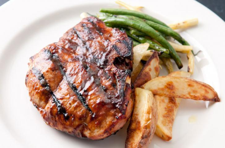 Souther Sweet and Spicy Pork Chops